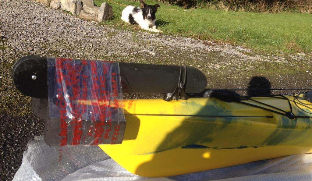 2016 Otium yellow new-rudder